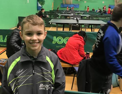 National Cup Selection for Young Table Tennis Player