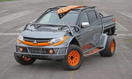 BESPOKE MITSUBISHI L200 BUILT SPECIALLY FOR FAST & FURIOUS LIVE BY ENTERTAINER AND RACING DRIVER SHANE LYNCH