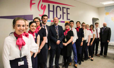 Flying high with Hartlepool College of Further Education