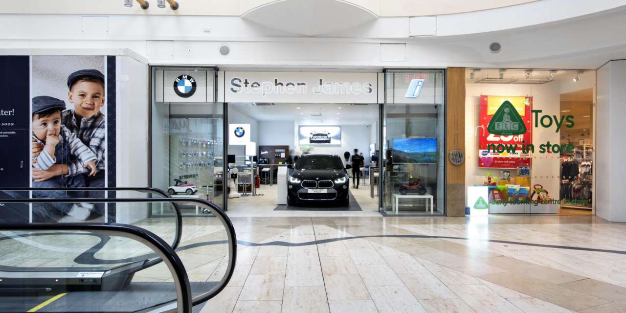 BMW'S FIRST UK URBAN STORE OPENS AT BLUEWATER SHOPPING CENTRE