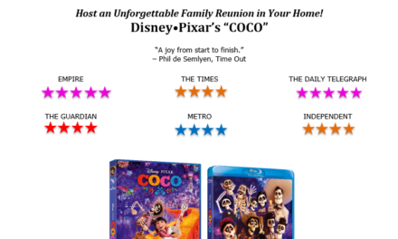 DISNEY'S COCO – ON BLU-RAY, DVD, AND ON-DEMAND 21 MAY 2018