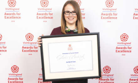VisitEngland awards silver to Go North East in national tourism celebration
