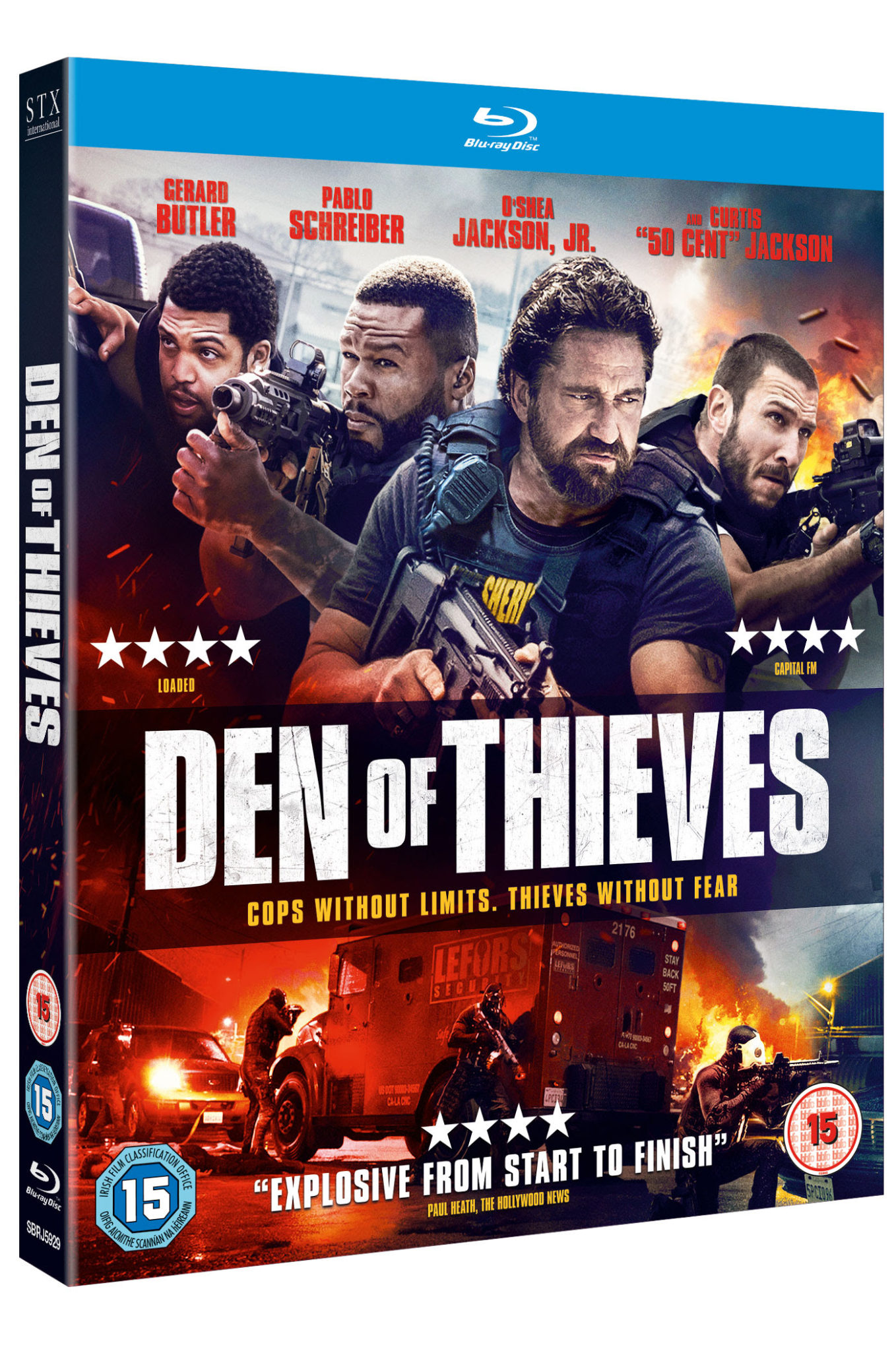DEN OF THIEVES   Available on Digital Download 28 May and on Blu-ray™ & DVD on 4 June