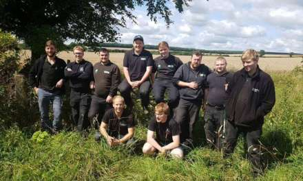 Apprentices' careers branch-off thanks to environmental scheme