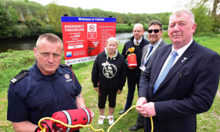 Dad whose Son Drowned on night out backs new life saving equipment at Fatfield
