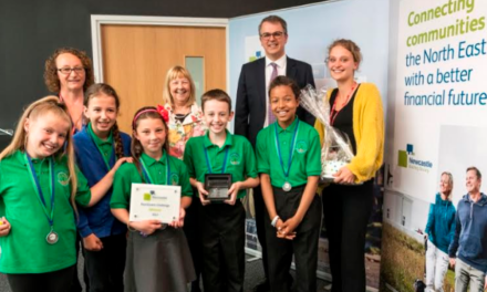 North East Schoolkids Aiming for the Top in Newcastle Building Society Boardroom Charity Challenge