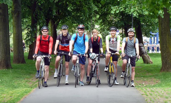 The Energy Industries Council takes on 600-mile cycle challenge via Teesside Office