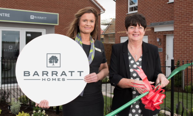 Barratt Homes' long serving employee unveils Show Home ahead of New Homes Week