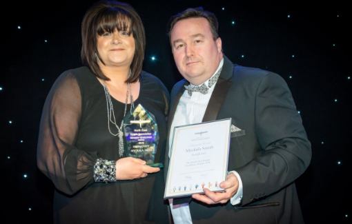 Rockliffe Hall's Myckala Smith wins top hotel industry award for charity work