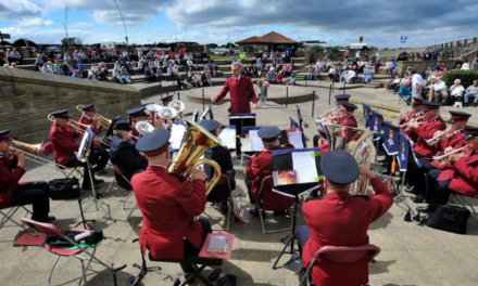 Bold as brass entertainment at South Tyneside Festival