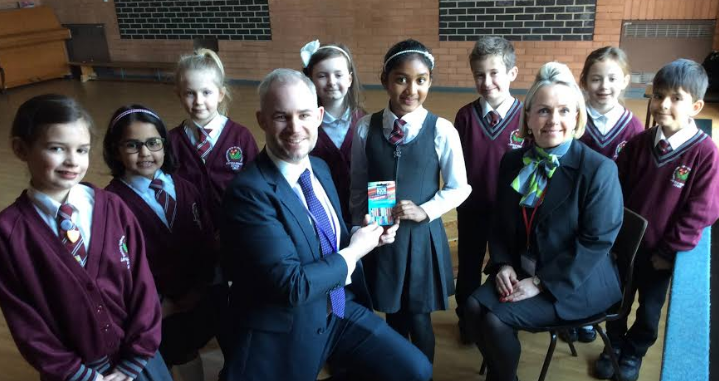 Local primary school stories bring a sprinkle of magic to housebuilder's show home