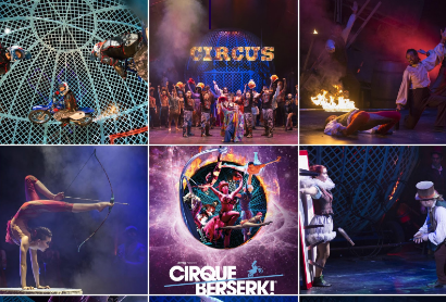 A jaw-dropping circus spectacular! Cirque Berserk at Tyne Theatre & Opera House