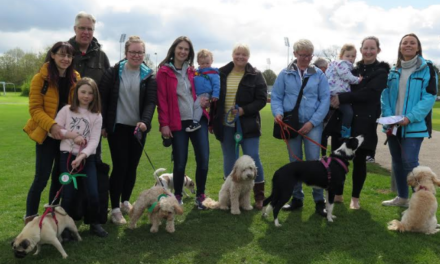Hounds Raise Thousands of Pounds at Charity Walk