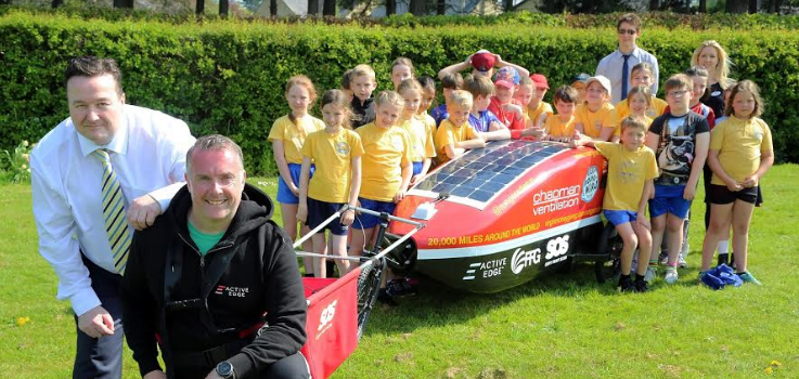 Run Geordie Run Visits Corbridge First School