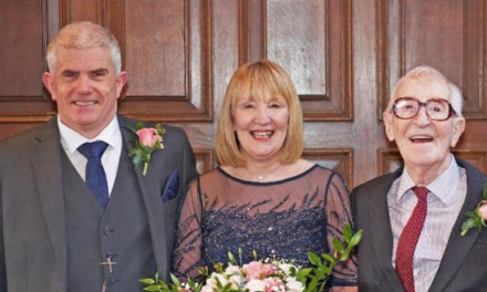 Couple request charity donations instead of wedding presents in aid of St Oswald's