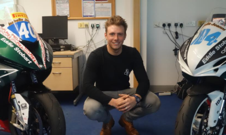 Superbike champ says achieving success is no easy ride