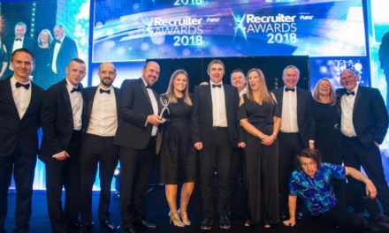 Go North East wins two accolades for innovative bus driver training programme at Recruiter Awards 2018