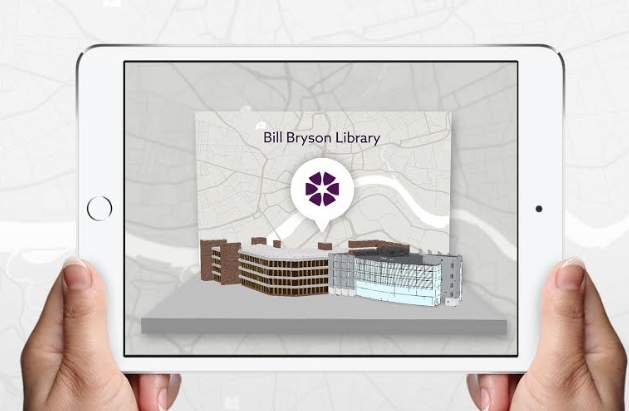 NBS to bring iconic North East buildings to life with augmented reality technology
