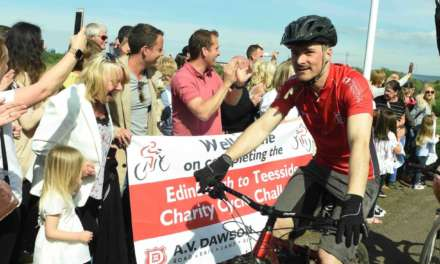 SADDLE-SORE RIDERS RAISE £10,000 FOR CHARITY