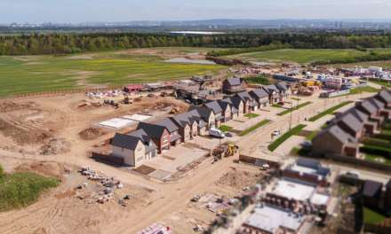 New aerial images show the progress of Story Homes' exclusive development at Wynyard Park