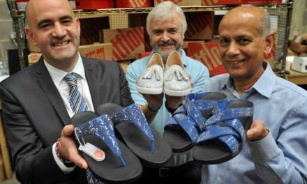 BIOMECHANICALLY ENGINEERED FASHION FOOTWEAR SPARK NEW BUSINESS FOR PORT OF TYNE