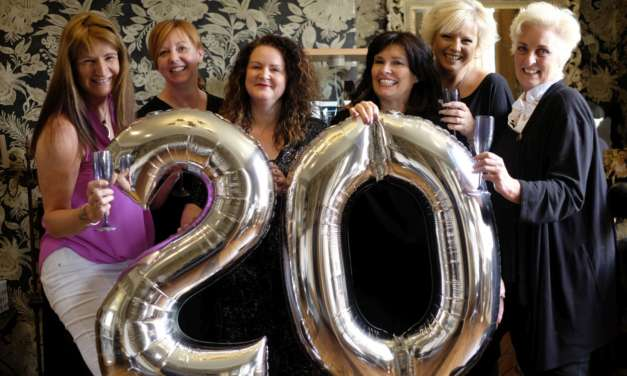 From North Shields family home to successful salon – Sanctuary House celebrates 20 years of success.