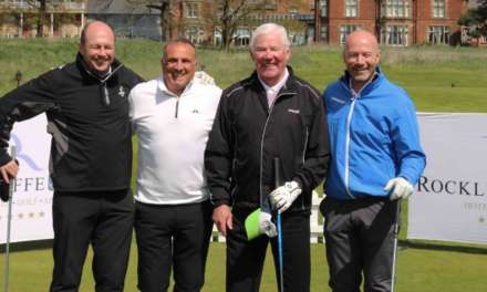 CHARITY GOLF DAY RAISES £3490 FOR INJURED JOCKEYS FUND