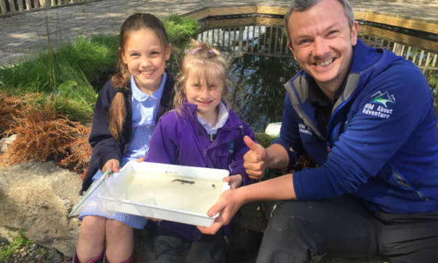 Northumberland primary school goes 'wild about adventure'