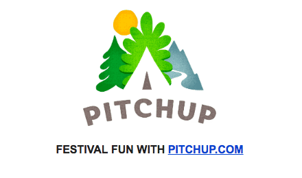 FESTIVAL FUN WITH PITCHUP.COM