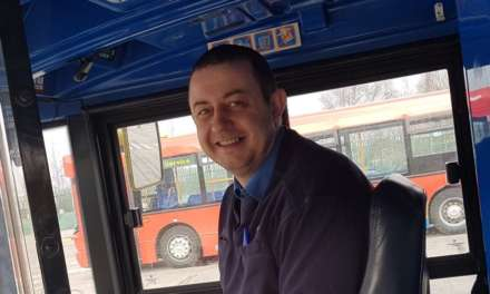 NEWCASTLE'S 'FAVOURITE' BUS DRIVER RECOGNISED BY BUS PASSENGERS AND COMPANY