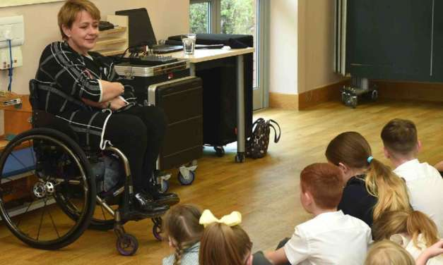 PARALYMPIC HERO BARONESS TANNI GREY-THOMPSON INSPIRES PUPILS TO BE 'WHATEVER THEY DREAM'