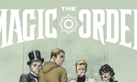"Netflix launch trailer for its first comic book — Mark Millar's ""The Magic Order"""