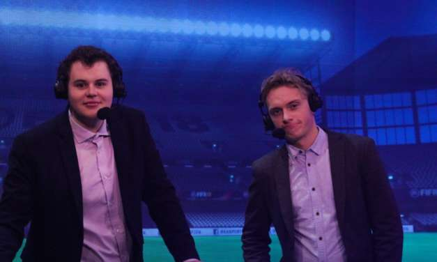 Students who commentate on FIFA 18 tournaments across the globe land funds to grow eSports Commentary business – thanks to UCFB
