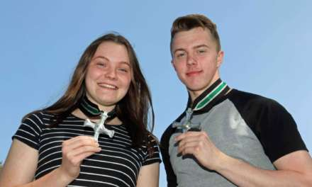 students rewarded with ancient honour
