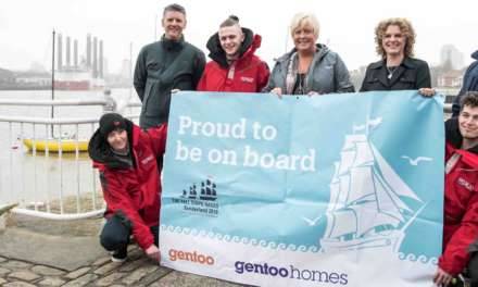 Young people set to take sail on the opportunity of a lifetime thanks to local landlord and housebuilder