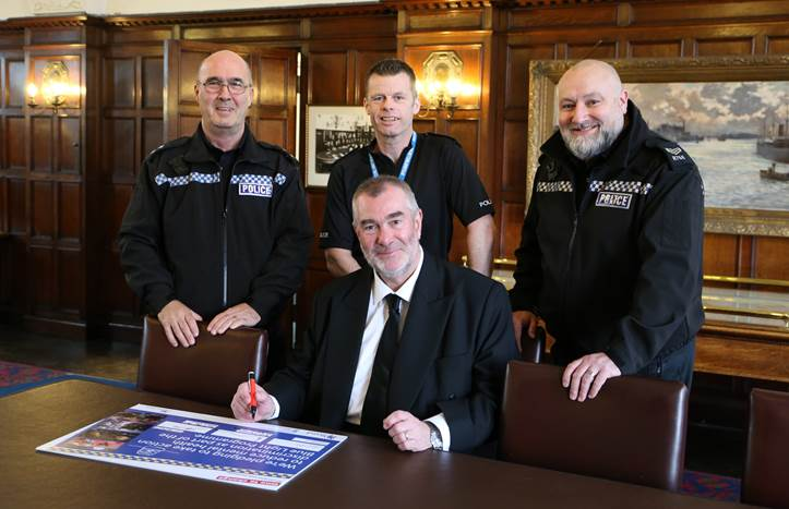 SUPPORTING NATIONWIDE INITIATIVE TO TACKLE MENTAL HEALTH STIGMA WITHIN EMERGENCY SERVICES