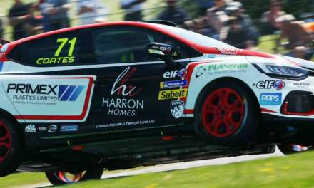 Double podium delight for Coates at Thruxton