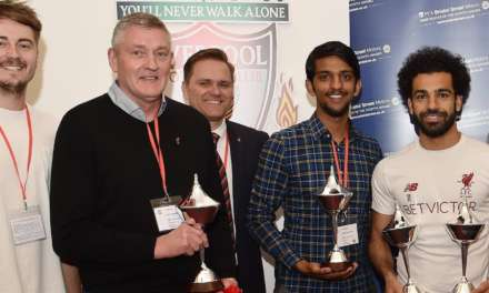 PFA and Bristol Street Motors help football fans present Mohamed Salah with award