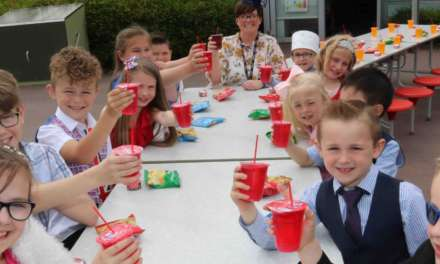 Royal wedding school street party