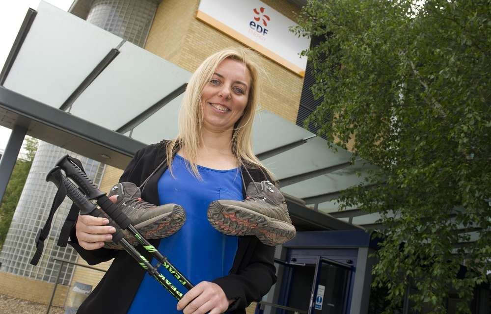 Energy employees trekking great lengths for breast cancer charity
