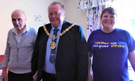 Hartlepool Mayor helps raise funds for the Stroke Association