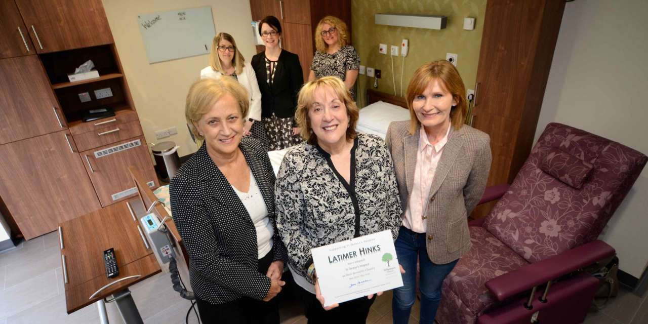 Latimer Hinks supports local hospice with £20k donation