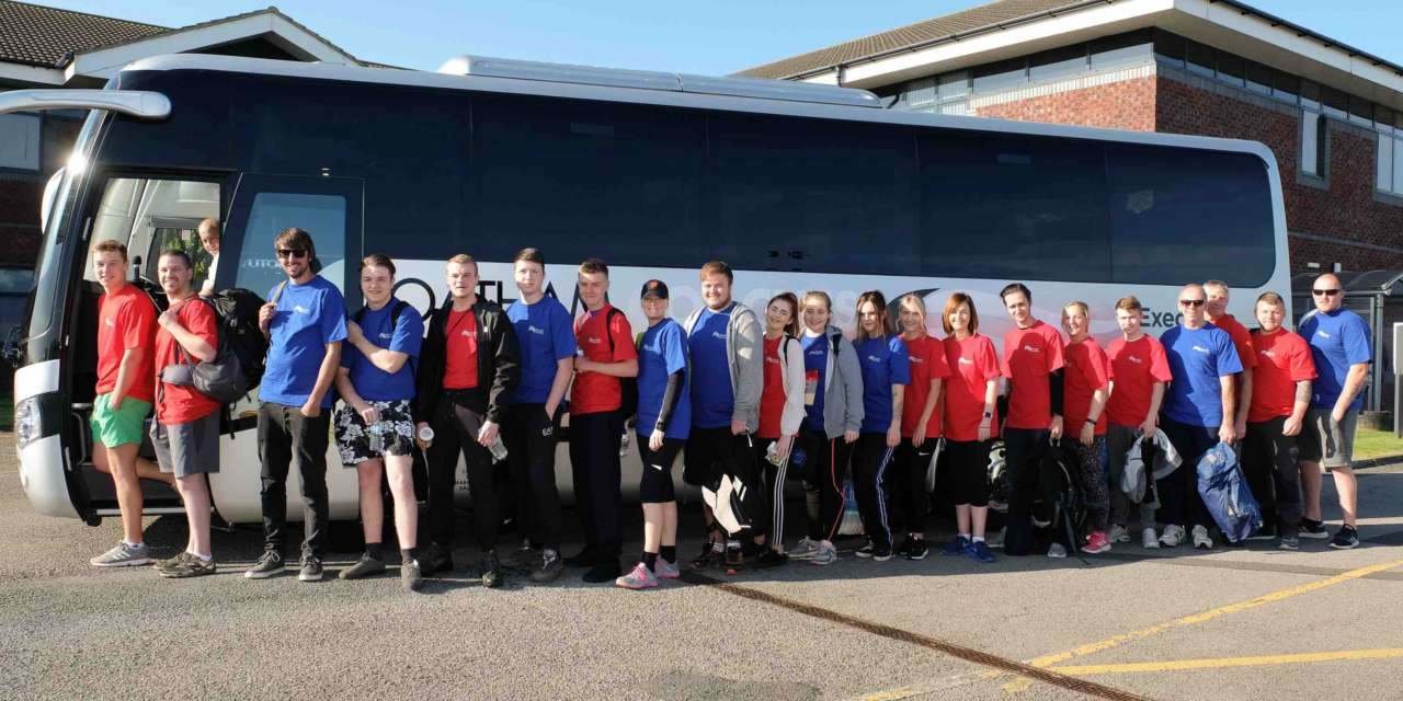 Coast & Country apprentices swap houses for harnesses in team training day