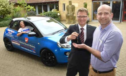 Bristol Street Motors sets the wheels in motion for St Oswald's Hospice