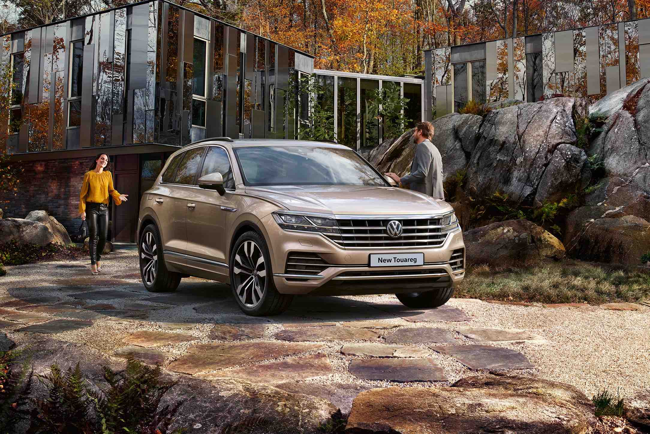 ORDER BOOKS OPEN FOR TOUAREG: VOLKSWAGEN'S FLAGSHIP SUV