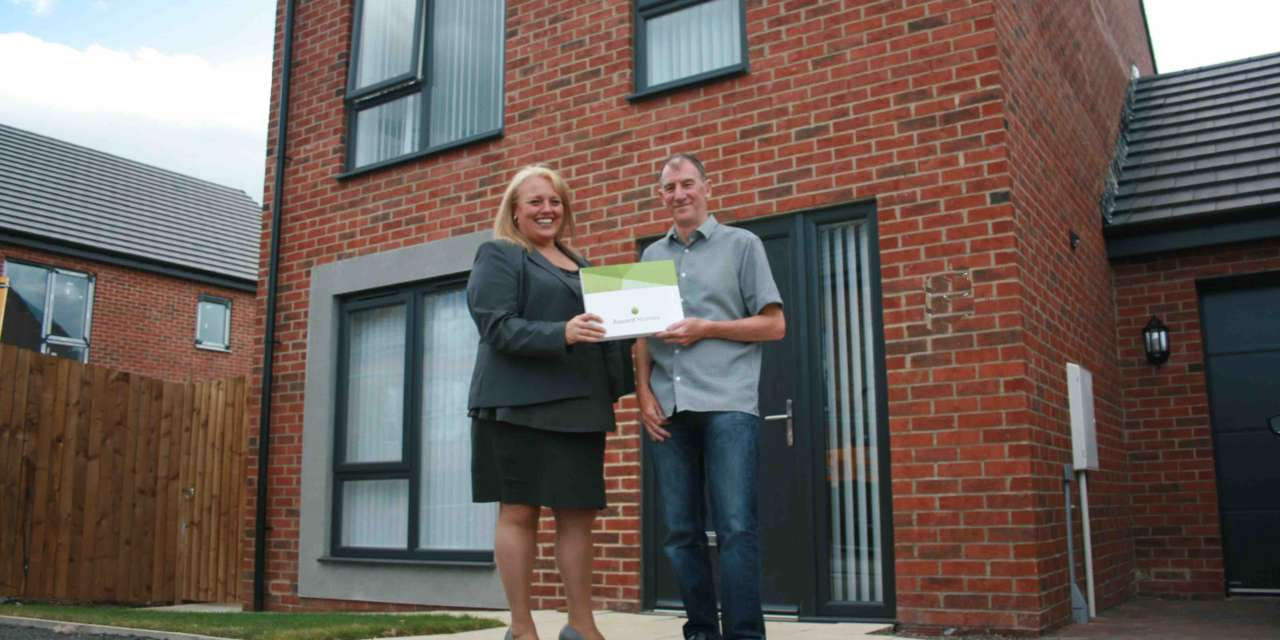 Northumberland housebuilder clocks up 100th new home sale