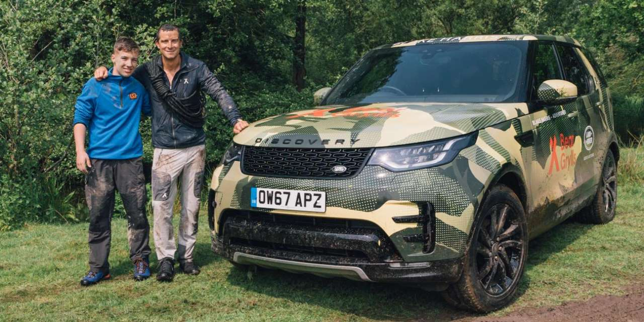 LAND ROVER AND BEAR GRYLLS SURPRISE 13 YEAR OLD WHO WENT ABOVE AND BEYOND