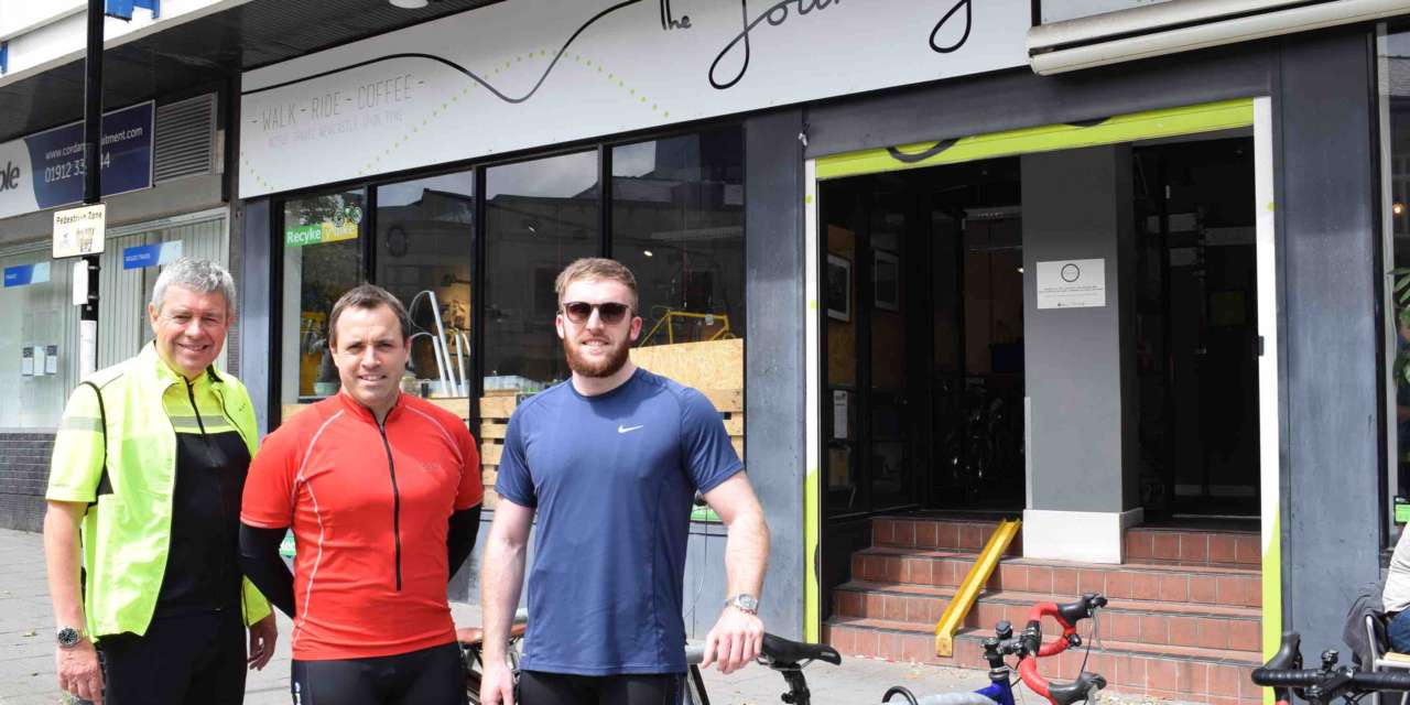On your bike for North East property professionals as they team up to raise funds for the regions young homeless