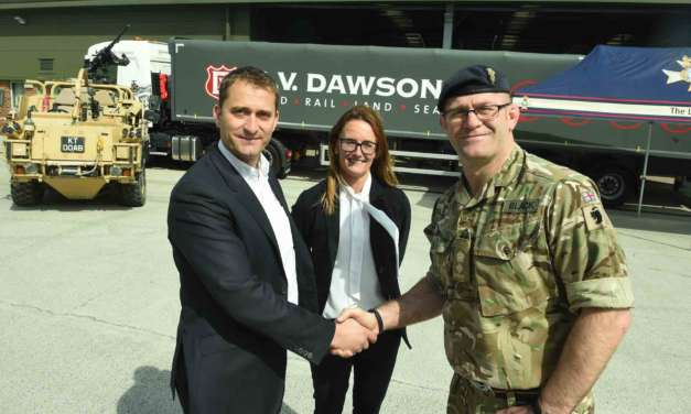 AV DAWSON SUPPORTS FORMER MILITARY PERSONNEL TO FIND JOBS
