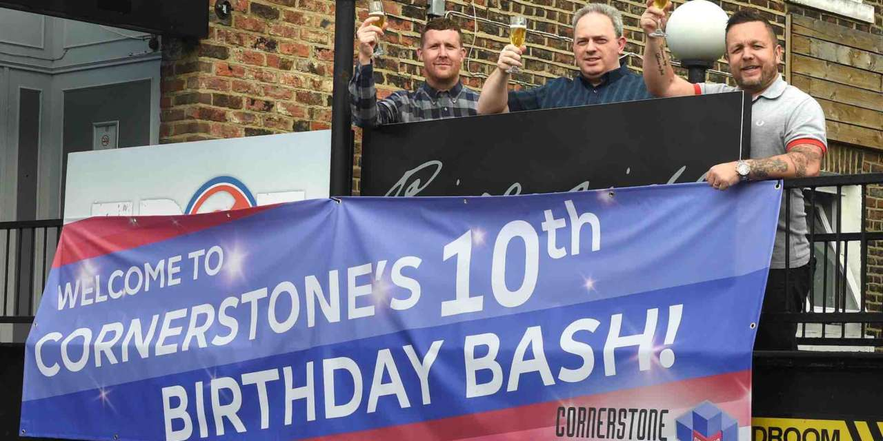 Cornerstone celebrate 10-year mark with Leeds expansion
